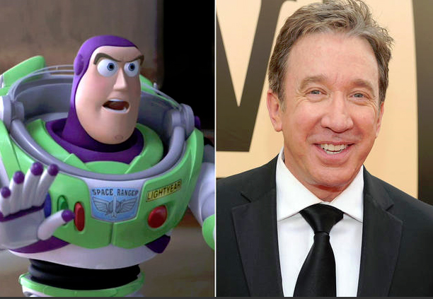 Toy Story Tim Allen As Buzz Lightyear Voices Of Disney - True identity andys mom makes toy story even epic will complete childhood
