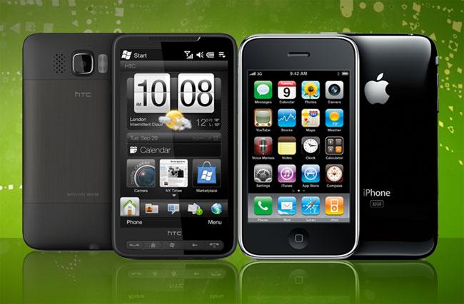 Iphone 1 Vs Iphone 2 Hd2 vs the apple iphoneIphone 1 Vs Iphone 2