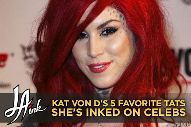 In more than a decade as a professional tattoo artist LA Ink 39s Kat Von D